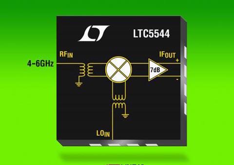 Mezclador para el rango de frecuencia RF de 4 a 6 GHz