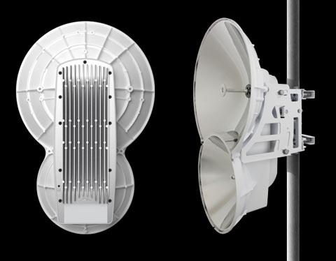 Radio de 1.4+ Gbps punto a punto de 24 GHz