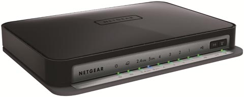 Router wireless a 750 Mbps