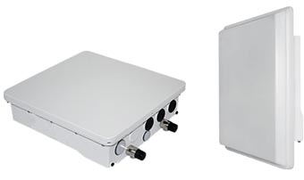Sistemas punto a multipunto de 300 Mbps