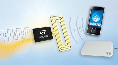 Memoria inalámbrica RFID / NFC