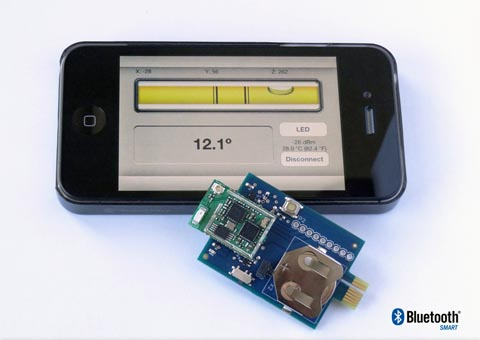 Controlador Bluetooth de ultra bajo consumo