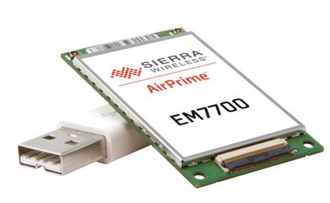 Módulo embebido LTE 4G con formato TFF