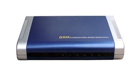 Terminal fijo inalámbrico para redes GSM