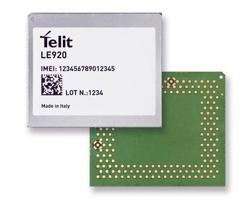 Módulo LTE para el sector de la automoción