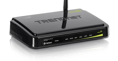 Router inalámbrico de rendimiento básico