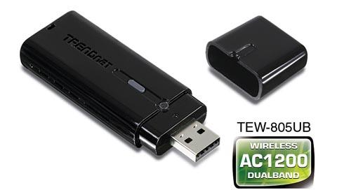 Adaptador inalámbrico AC1200 con un puerto USB 3.0