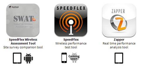 Aplicaciones móviles Wi-Fi