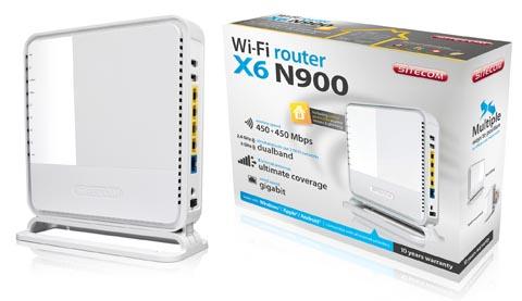 Router Wi-Fi con servidor DLNA integrado