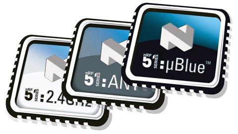 SoC de 2.4 GHz Bluetooth con memoria Flash de 128 kB