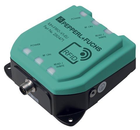 Cabezal compacto y robusto de lectura/escritura para UHF
