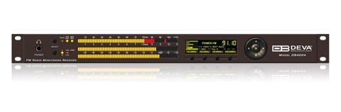 Receptor y monitor de modulación de radio FM