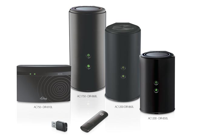 Routers cloud Wi-Fi Wireless AC 1.3 Gbps