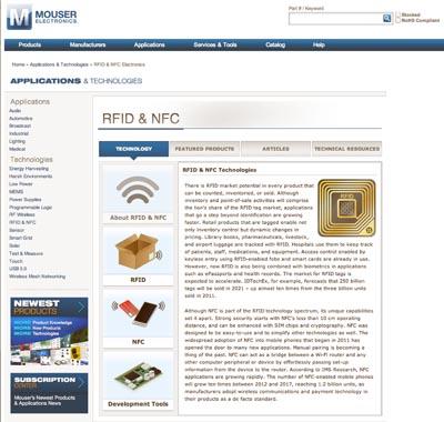 Tecnologías RFID y NFC en la web