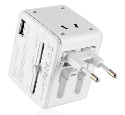 Router Wi-Fi con adaptador y cargador