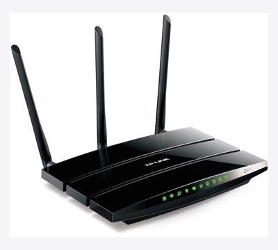 Router módem Gigabit ADSL2+