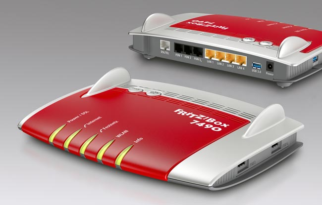 Router Gigabit con AC WiFi
