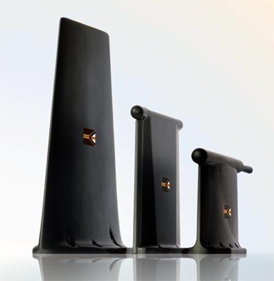 Antena de bajo perfil para aeronáutica