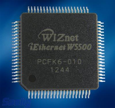 Chip Ethernet para el Internet de las Cosas