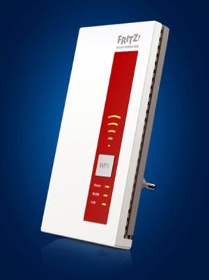 Repetidor FRITZ!WLAN 1750E a 2.4 y 5 GHz