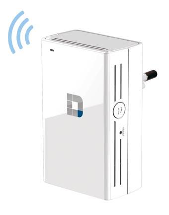 Repetidor con tecnología Wi-Fi AC