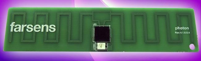 tag detector de campos RF
