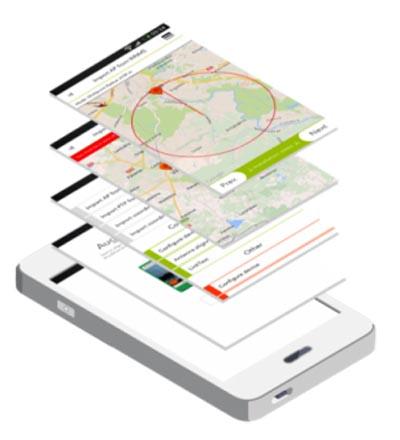 App para instalación de enlaces