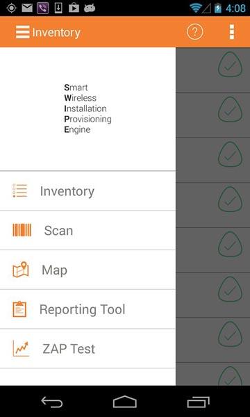 app para instalación inalámbrica