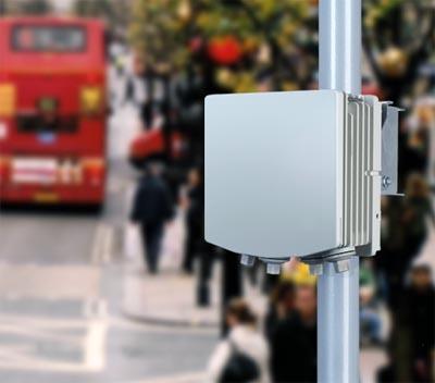 Radio backhaul a 60 GHz