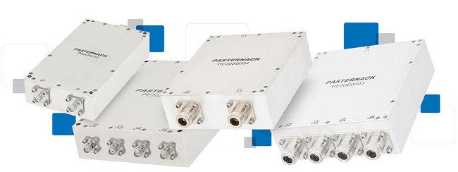 Combinadores de potencia RF hasta 6 GHz