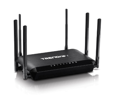 Router wireless tribanda