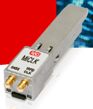 SFP IEEE 1588 con receptor GNSS incorporado