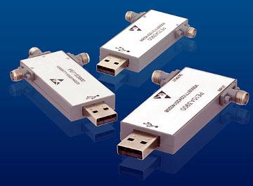Componentes de radiofrecuencia con USB