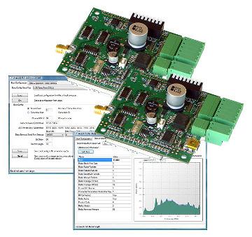 Kit modular de evaluación para conectar equipos RS-232