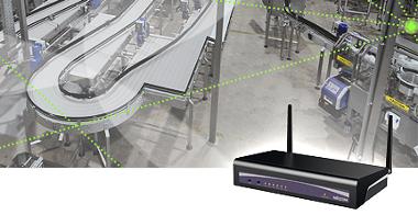 Punto de acceso Wi-Fi para factorías