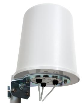 Antena MIMO omnidireccional de 3 puertos