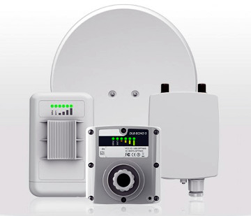 Antenas PTMP en la frecuencia de los 2 y los 5 GHz