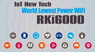 Tecnología de conectividad Wi-Fi de consumo extra-bajo