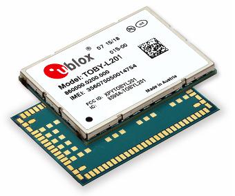 Módulo 4G LTE con certificado AT&T y Verizon