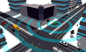 Radar de 360 grados para vehículos autoconducidos