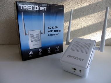 Repetidor de cobertura Wi-Fi AC y N