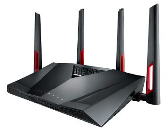 router de doble banda AC3100