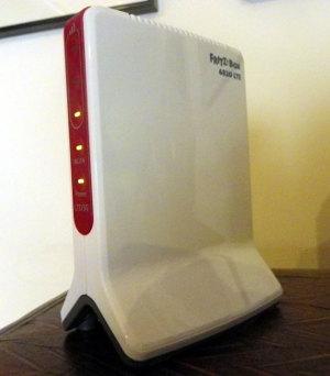 Prueba de laboratorio FRITZ!Box 6820 LTE