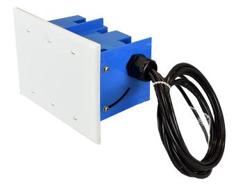 Antena Wi-Fi en caja eléctrica
