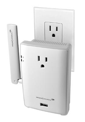 Extensor Wi-Fi con cargador USB