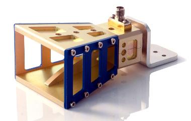 antena tipo bocina para microondas