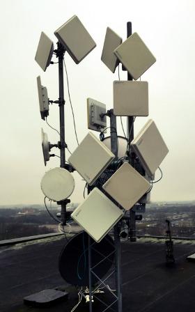 radioenlaces en banda libre