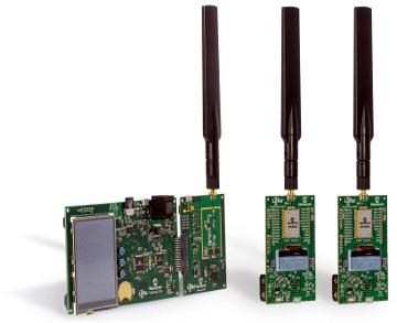 Kits de evaluación para tecnología LoRa