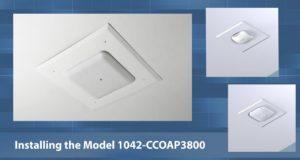 Sistema para montaje de APs en techo