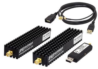 Sintetizadores PLL controlados por USB